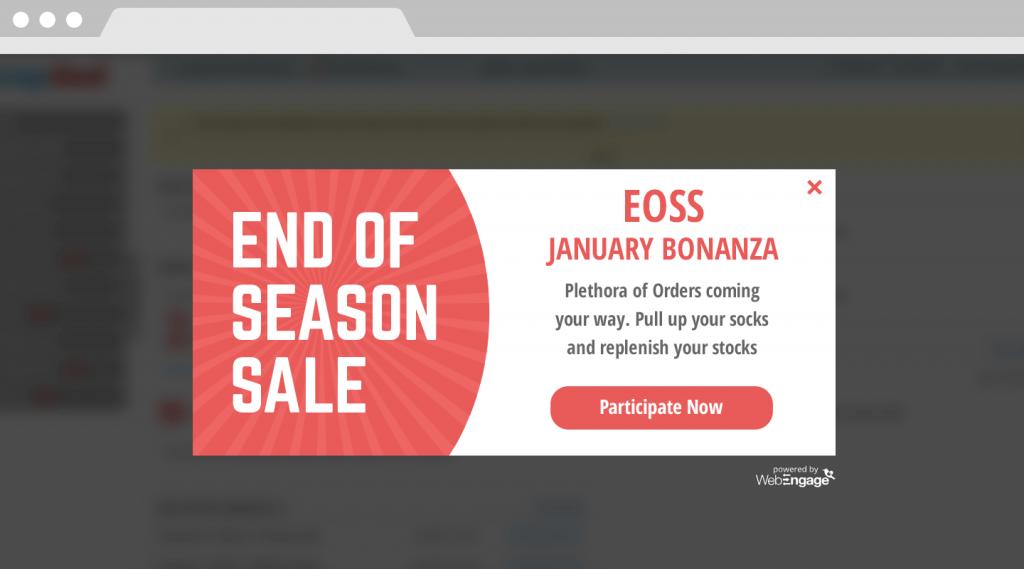 participate in sales for E-commerce Seller Portals