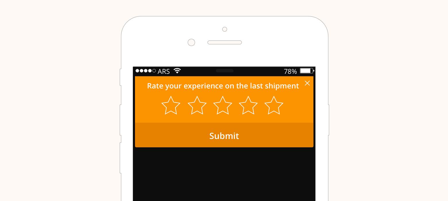 Asking feedback use-case