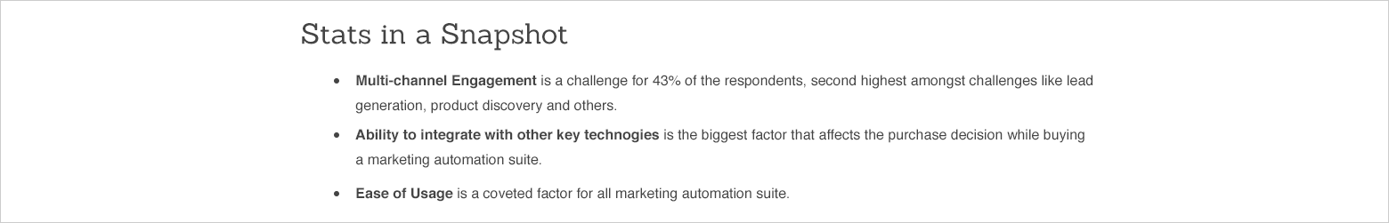 marketing automation report screenshot