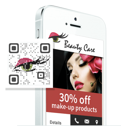 custom qr code for your app
