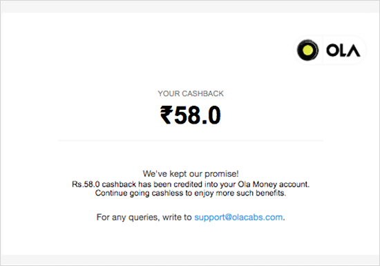 ola user action update email