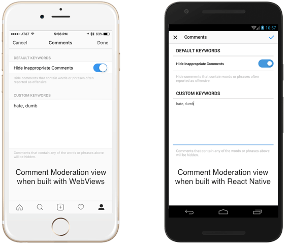 building better UI and UX using React Native for mobile apps
