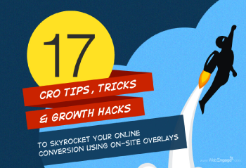 17 Tips, Tricks And Growth Hacks To Skyrocket Your Conversions Using On-site Overlays