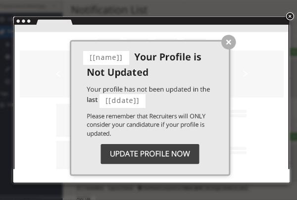 Dynamic Notification WebEngage